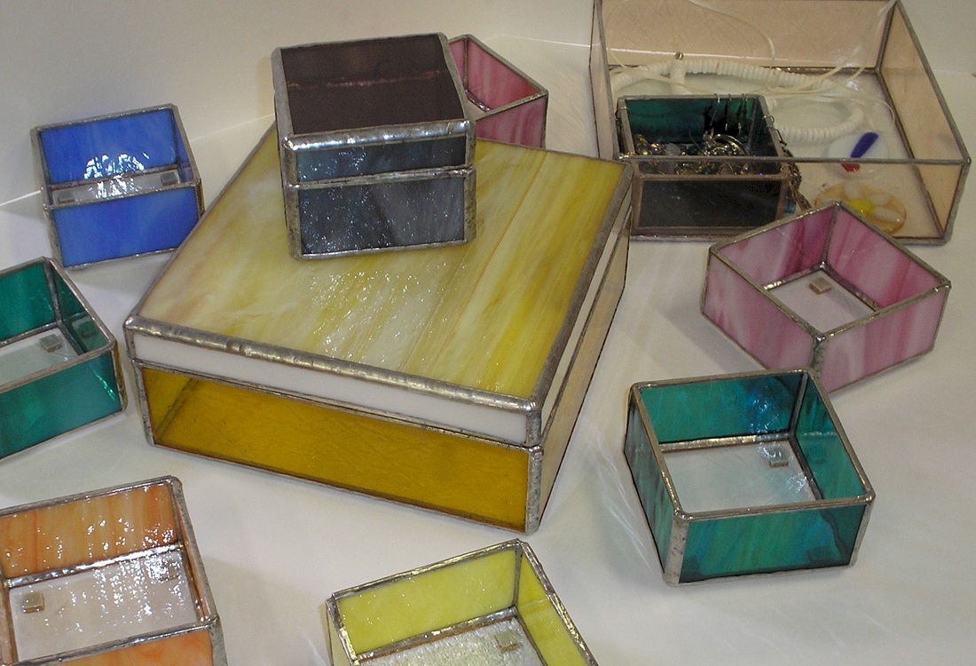 Stained Glass Jewelry Box Gomm Stained Glass