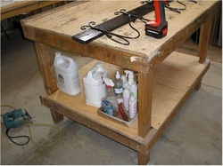 Build Your Own Work Bench Gomm Stained Glass