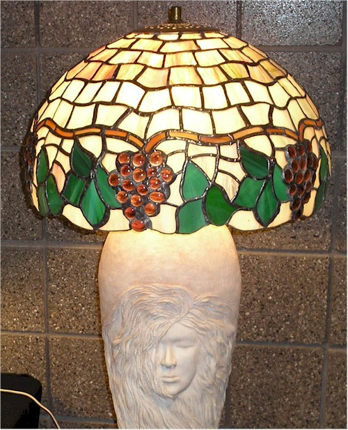 Building A Stained Glass Lamp With A Worden Mold Gomm Stained