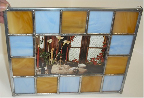 Building A Stained Glass Picture Frame - Gomm Stained Glass